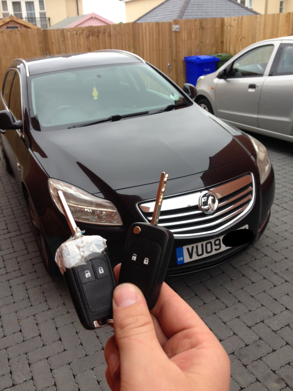Insignia key replacement